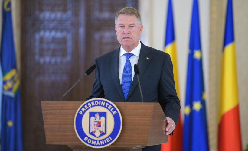 Iohannis declaratie de presa