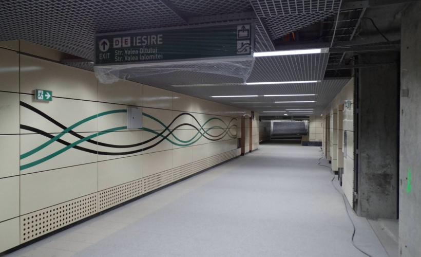 Magsitrala metrou M5 Bucuresti
