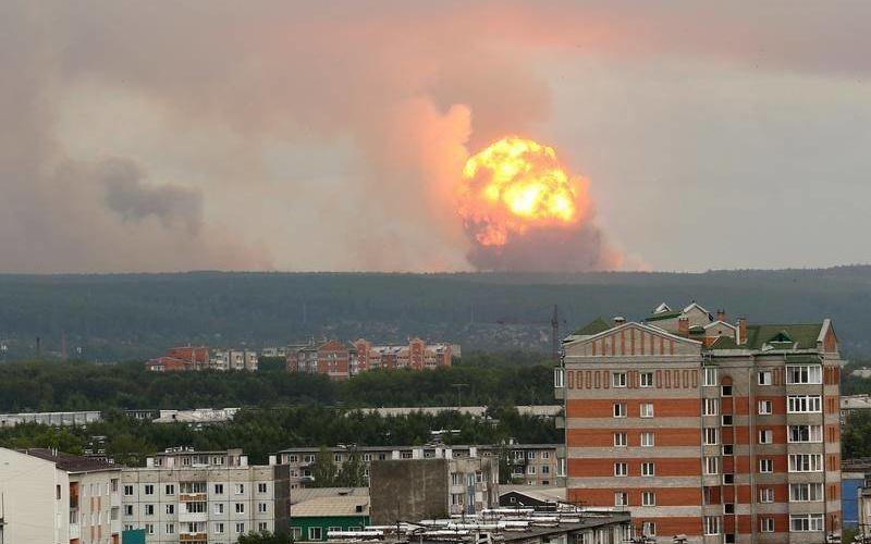 explozie racheta rusia