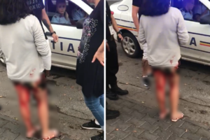 minora sange galati politie