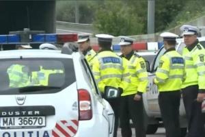 politia trafic blocat