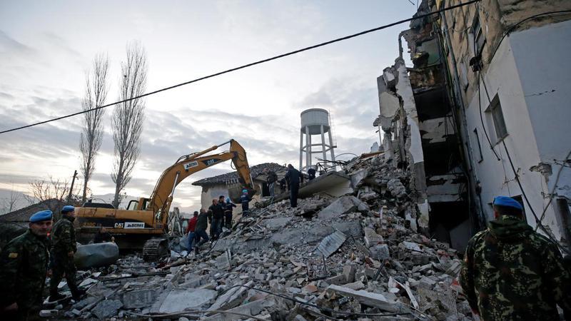 cutremur albania - jurnaltv