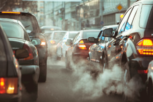 Poluare masina