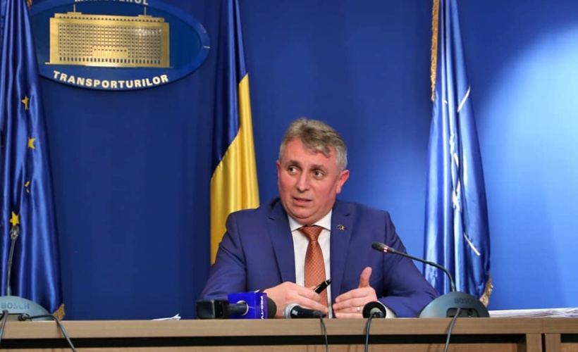 Lucian Bode Ministrul Transporturilor