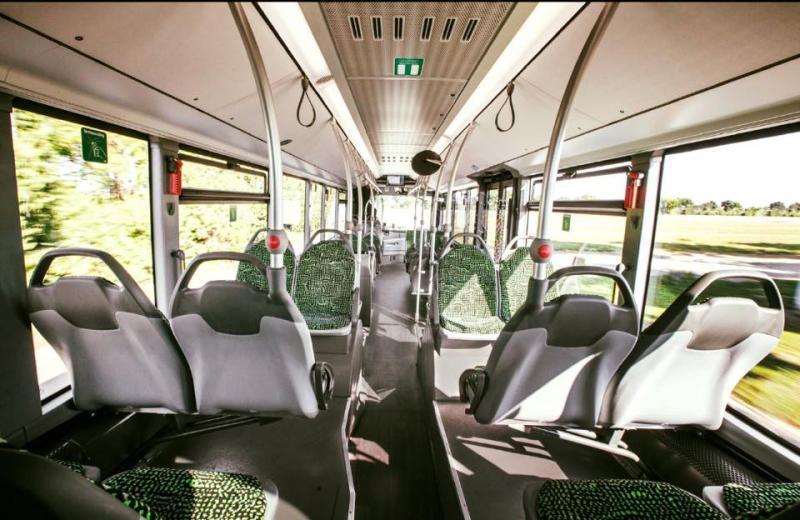 interior autobuz hibrid