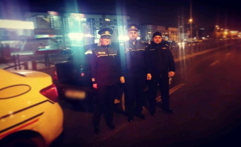 politie hot masini