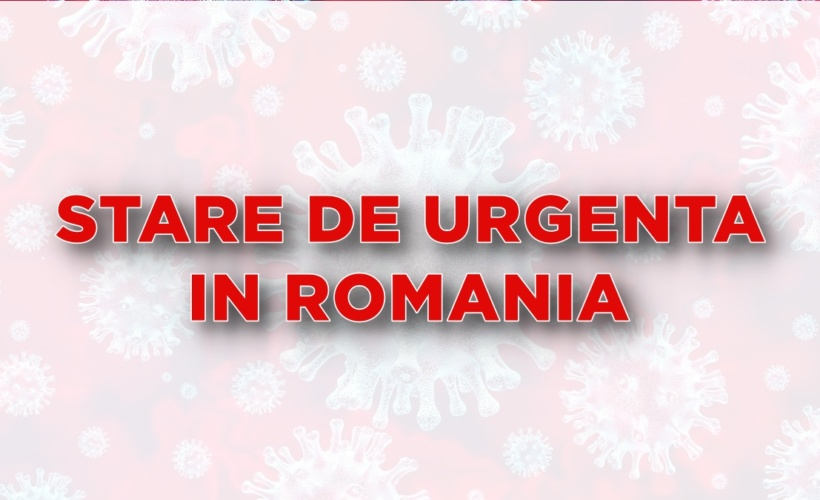 STARE DE URGENTA IN ROMANIA