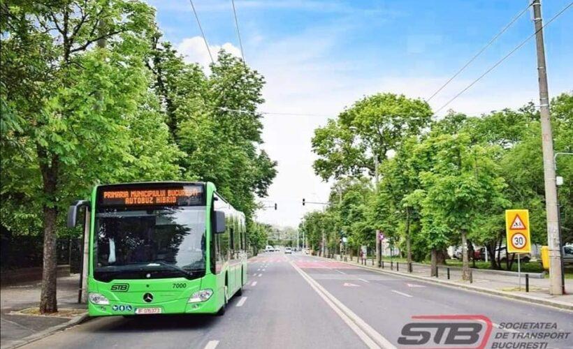 autobuz hibrid stb